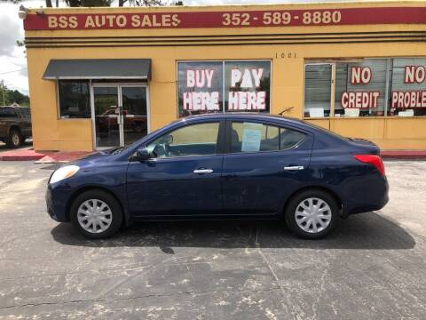 2012 Nissan Versa for sale at BSS AUTO SALES INC in Eustis FL