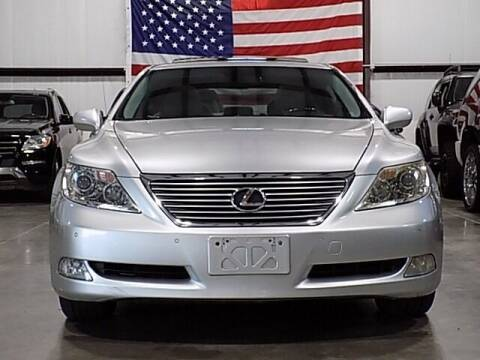 2007 Lexus LS 460 for sale at Texas Motor Sport in Houston TX