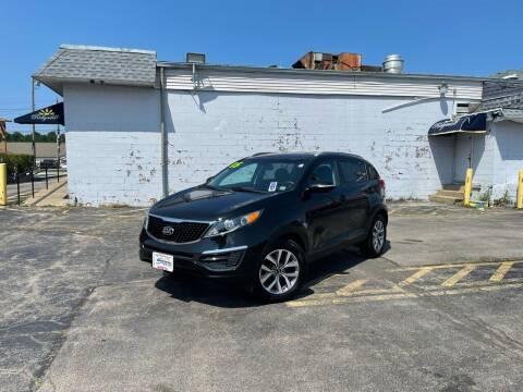 2015 Kia Sportage for sale at Santa Motors Inc in Rochester NY
