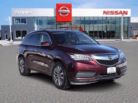 2016 Acura MDX for sale at EMPIRE LAKEWOOD NISSAN in Lakewood CO