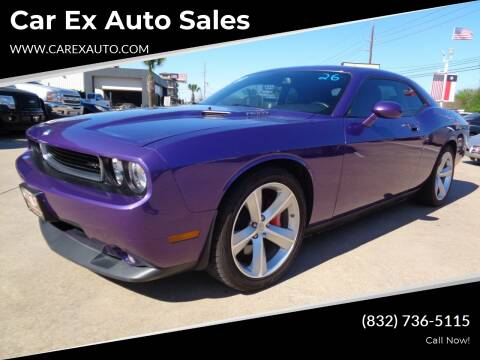 2010 Dodge Challenger for sale at Car Ex Auto Sales in Houston TX