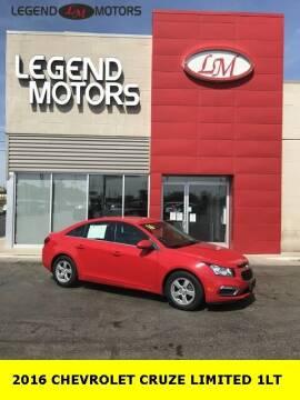 2016 Chevrolet Cruze Limited for sale at Legend Motors of Ferndale in Ferndale MI