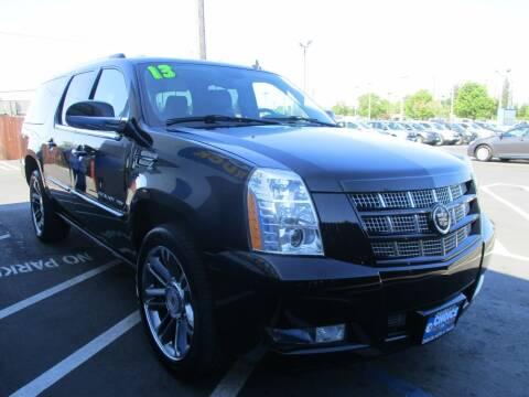 2013 Cadillac Escalade ESV for sale at Choice Auto & Truck in Sacramento CA