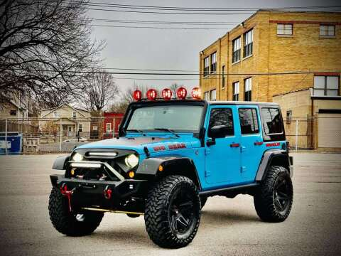 2017 Jeep Wrangler Unlimited for sale at ARCH AUTO SALES in St. Louis MO