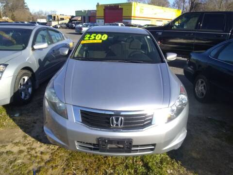 2008 Honda Accord for sale at Marino's Auto Sales in Laurel DE