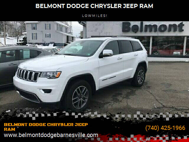 2020 Jeep Grand Cherokee for sale at BELMONT DODGE CHRYSLER JEEP RAM in Barnesville OH