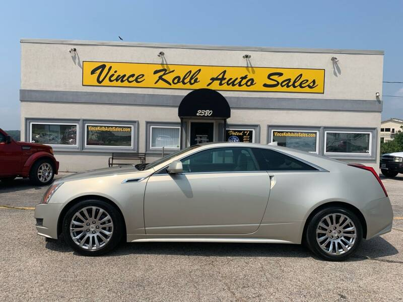 2013 Cadillac CTS for sale at Vince Kolb Auto Sales in Lake Ozark MO