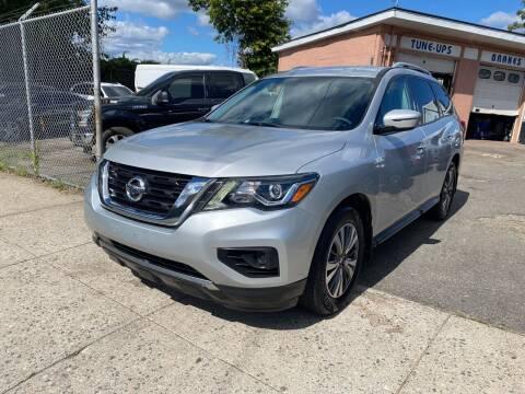 2017 Nissan Pathfinder for sale at Seaview Motors and Repair LLC in Bridgeport CT