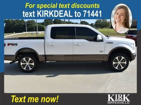 2016 Ford F-150 for sale at Kirk Brothers Batesville in Batesville MS