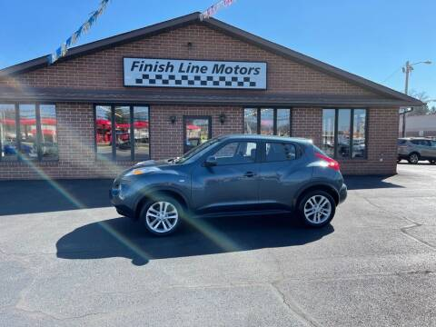 2011 Nissan JUKE for sale at FINISHLINE MOTORS in Canton OH