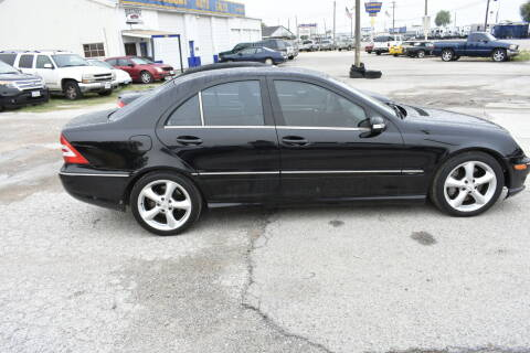 2006 Mercedes-Benz C-Class for sale at WF AUTOMALL in Wichita Falls TX