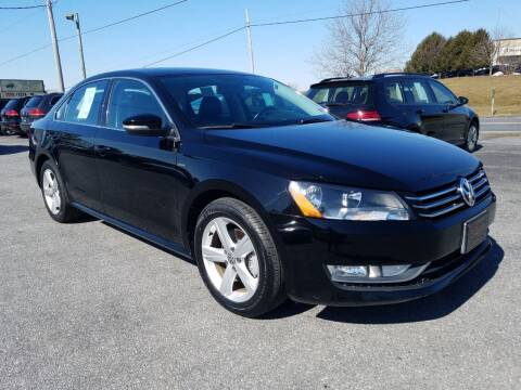2015 Volkswagen Passat for sale at John Huber Automotive LLC in New Holland PA