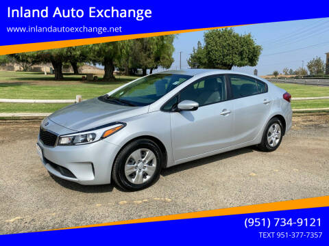 2017 Kia Forte for sale at Inland Auto Exchange in Norco CA