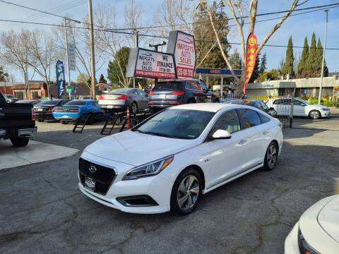 2017 Hyundai Sonata Hybrid for sale at Imports Auto Sales & Service in San Leandro CA