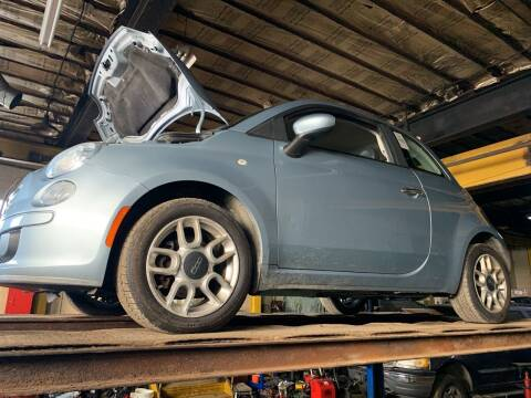 2013 FIAT 500 for sale at Trocci's Auto Sales in West Pittsburg PA