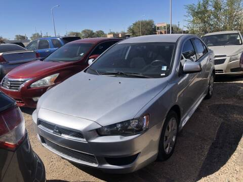 2012 Mitsubishi Lancer for sale at Top Gun Auto Sales, LLC in Albuquerque NM