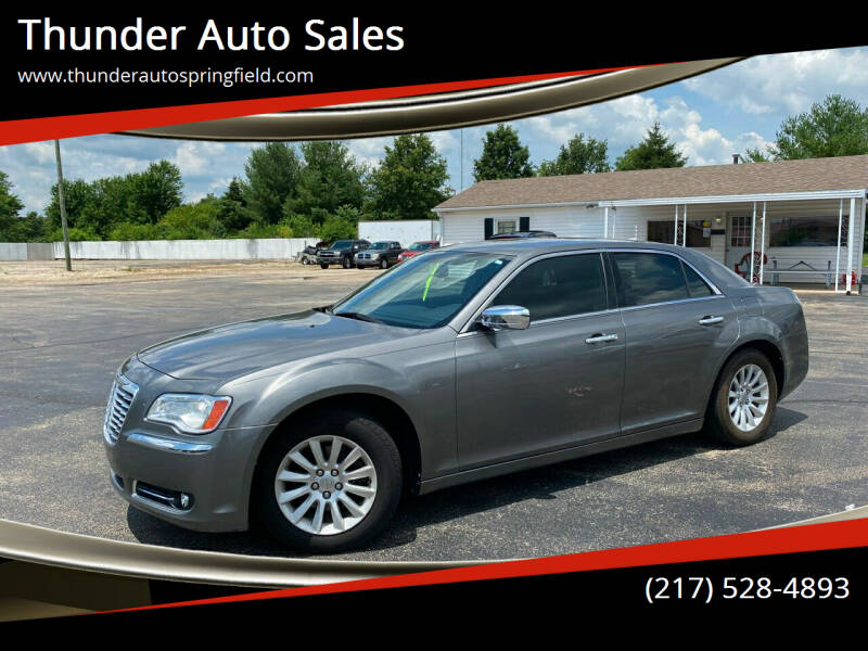 2011 Chrysler 300 for sale at Thunder Auto Sales in Springfield IL
