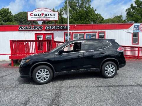 2016 Nissan Rogue for sale at CARFIRST ABERDEEN in Aberdeen MD