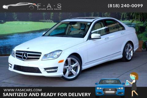 2014 Mercedes-Benz C-Class for sale at Best Car Buy in Glendale CA