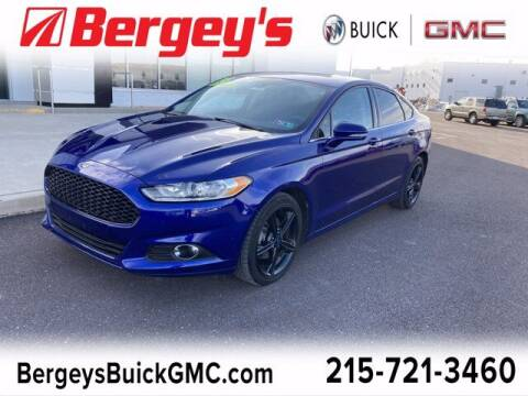 2016 Ford Fusion for sale at Bergey's Buick GMC in Souderton PA