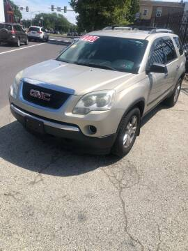 2010 GMC Acadia for sale at Z & A Auto Sales in Philadelphia PA