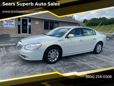2010 Buick Lucerne for sale at Sears Superb Auto Sales in Corbin KY