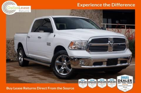 2018 RAM Ram Pickup 1500 for sale at Dallas Auto Finance in Dallas TX