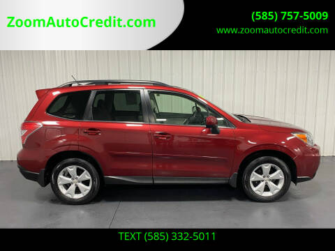 2015 Subaru Forester for sale at ZoomAutoCredit.com in Elba NY