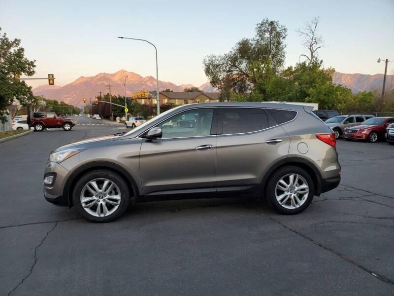 2013 Hyundai Santa Fe Sport for sale at UTAH AUTO EXCHANGE INC in Midvale UT