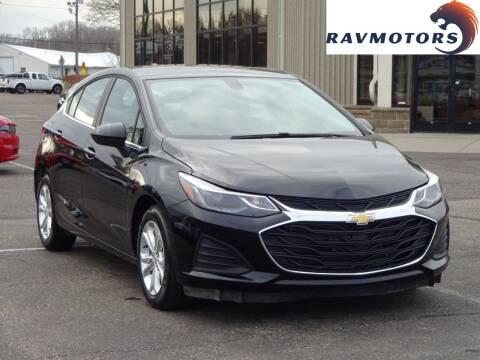 2019 Chevrolet Cruze for sale at RAVMOTORS 2 in Crystal MN