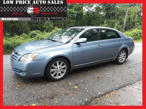 2006 Toyota Avalon for sale at Low Price Autos in Beaumont TX
