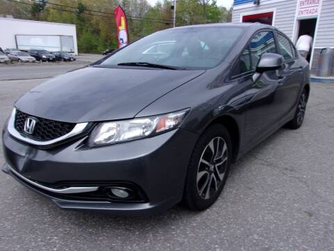 2013 Honda Civic for sale at Top Line Import of Methuen in Methuen MA