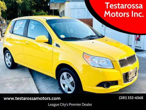 2010 Chevrolet Aveo for sale at Testarossa Motors Inc. in League City TX