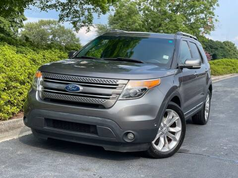 2012 Ford Explorer for sale at William D Auto Sales in Norcross GA