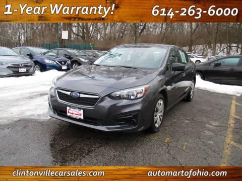 2018 Subaru Impreza for sale at Clintonville Car Sales - AutoMart of Ohio in Columbus OH