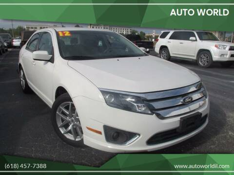 2012 Ford Fusion for sale at Auto World in Carbondale IL