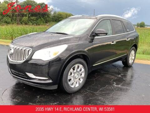 2017 Buick Enclave for sale at Jones Chevrolet Buick Cadillac in Richland Center WI