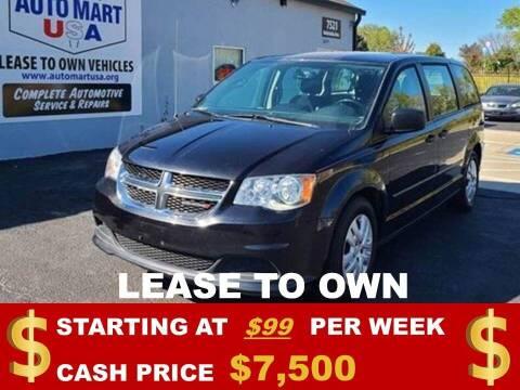 2016 Dodge Grand Caravan for sale at Auto Mart USA in Kansas City MO