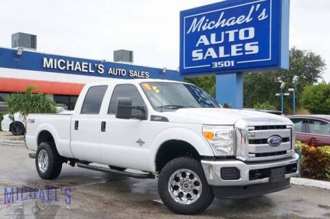 2015 Ford F-250 Super Duty for sale at Michael's Auto Sales Corp in Hollywood FL