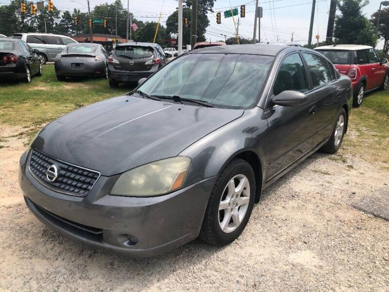 2005 Nissan Altima for sale at Deme Motors in Raleigh NC