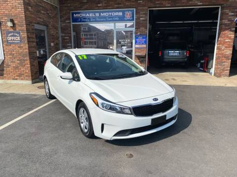 2017 Kia Forte for sale at Michaels Motor Sales INC in Lawrence MA