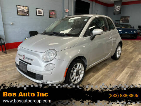 2012 FIAT 500 for sale at Bos Auto Inc in Quincy MA