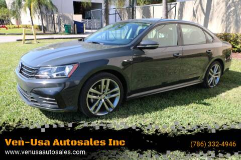 2018 Volkswagen Passat for sale at Ven-Usa Autosales Inc in Miami FL