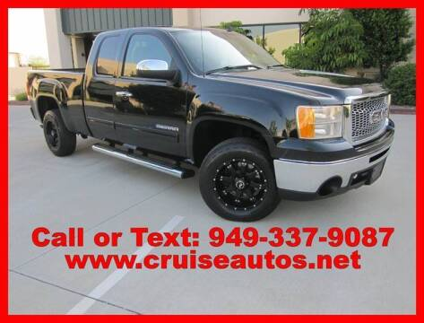 2010 GMC Sierra 1500 for sale at Cruise Autos in Corona CA