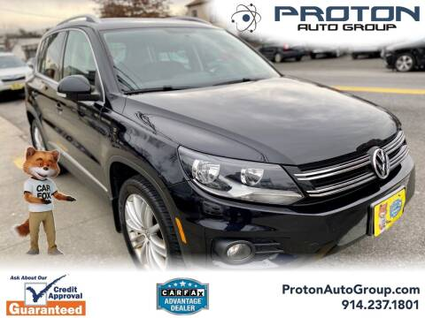 2012 Volkswagen Tiguan for sale at Proton Auto Group in Yonkers NY