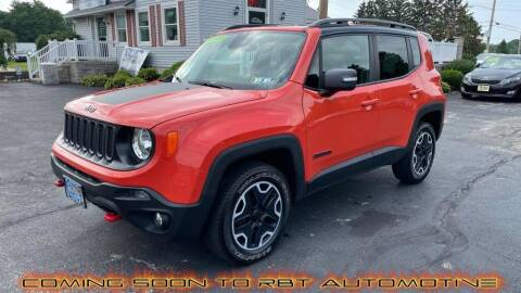 2015 Jeep Renegade for sale at RBT Automotive LLC in Perry OH