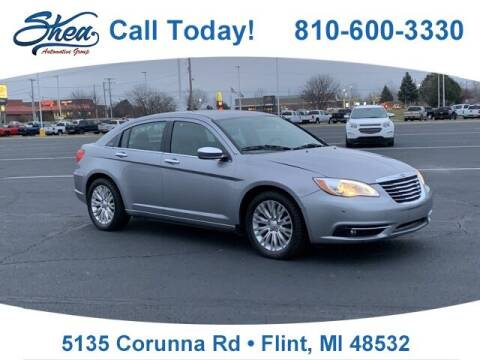 2013 Chrysler 200 for sale at Jamie Sells Cars 810 - Linden Location in Flint MI
