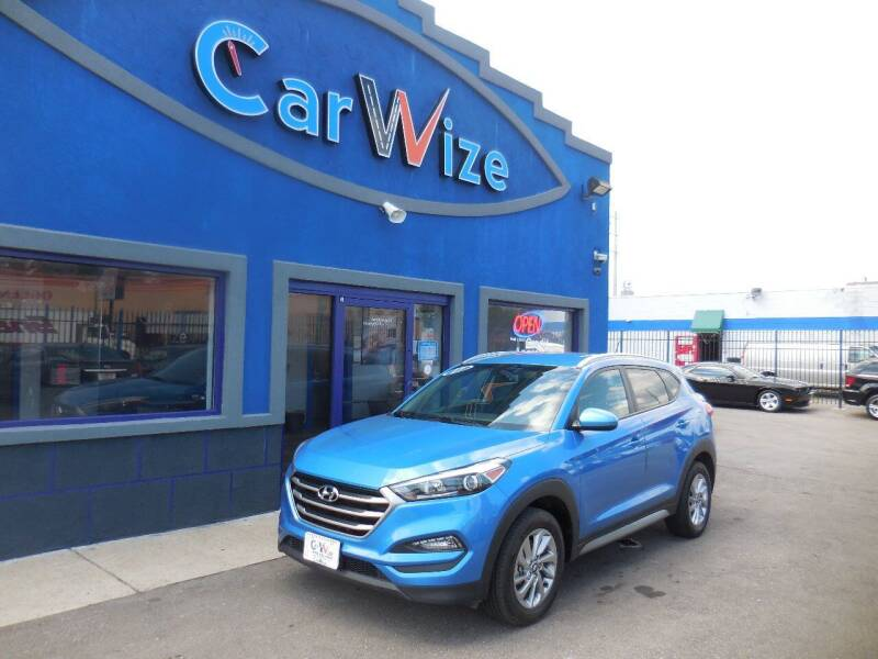 2017 Hyundai Tucson for sale at Carwize in Detroit MI