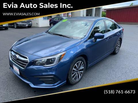 2019 Subaru Legacy for sale at Evia Auto Sales Inc. in Glens Falls NY