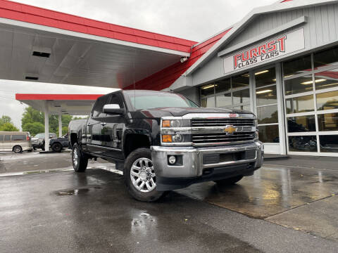 2015 Chevrolet Silverado 2500HD for sale at Furrst Class Cars LLC  - Independence Blvd. in Charlotte NC
